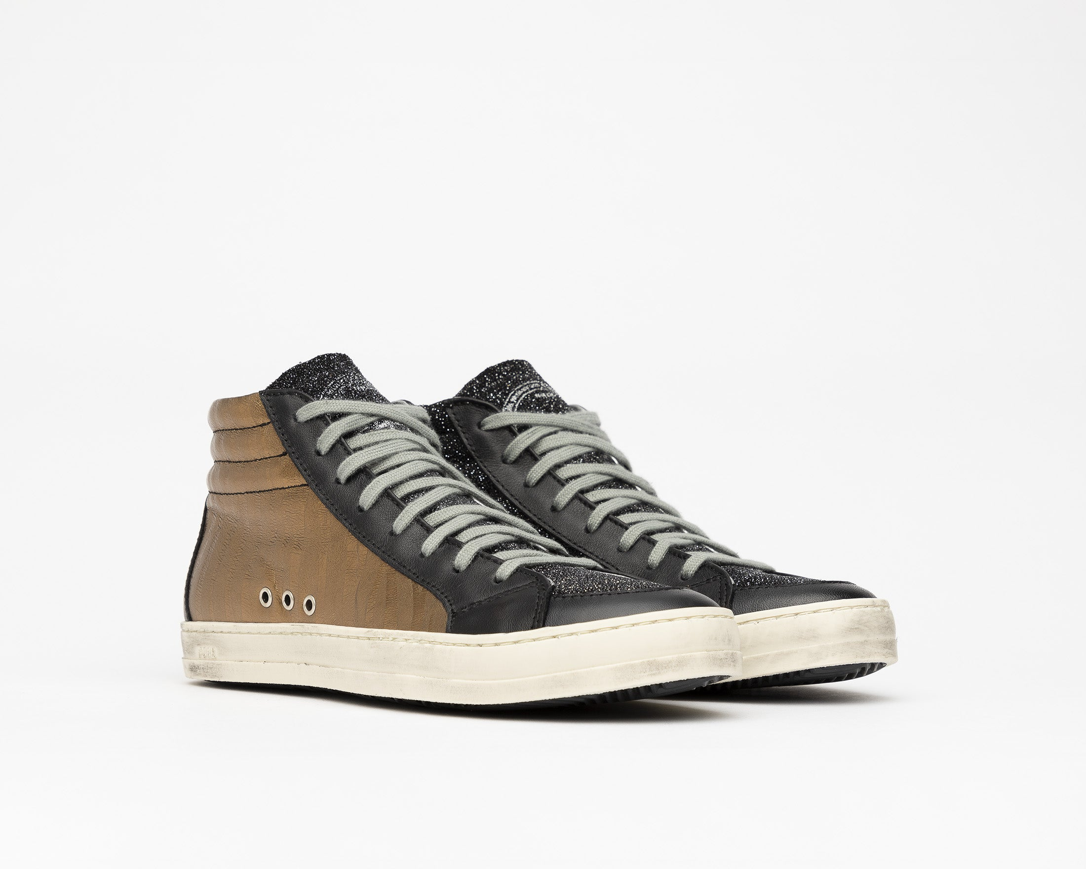 SkateBS High-Top Sneaker in Sahara - Side