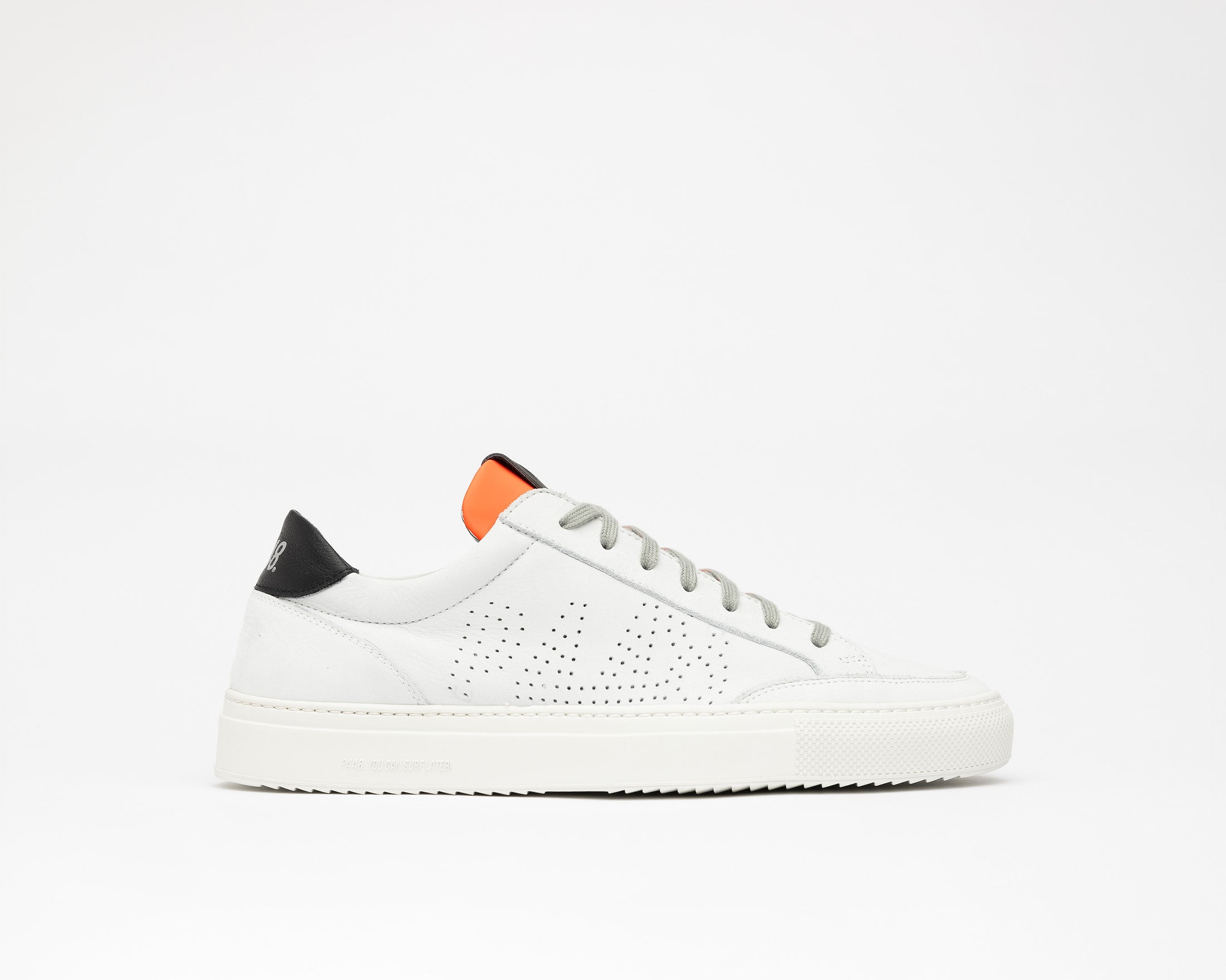Soho White/Orange - Mens Sneaker - Profile