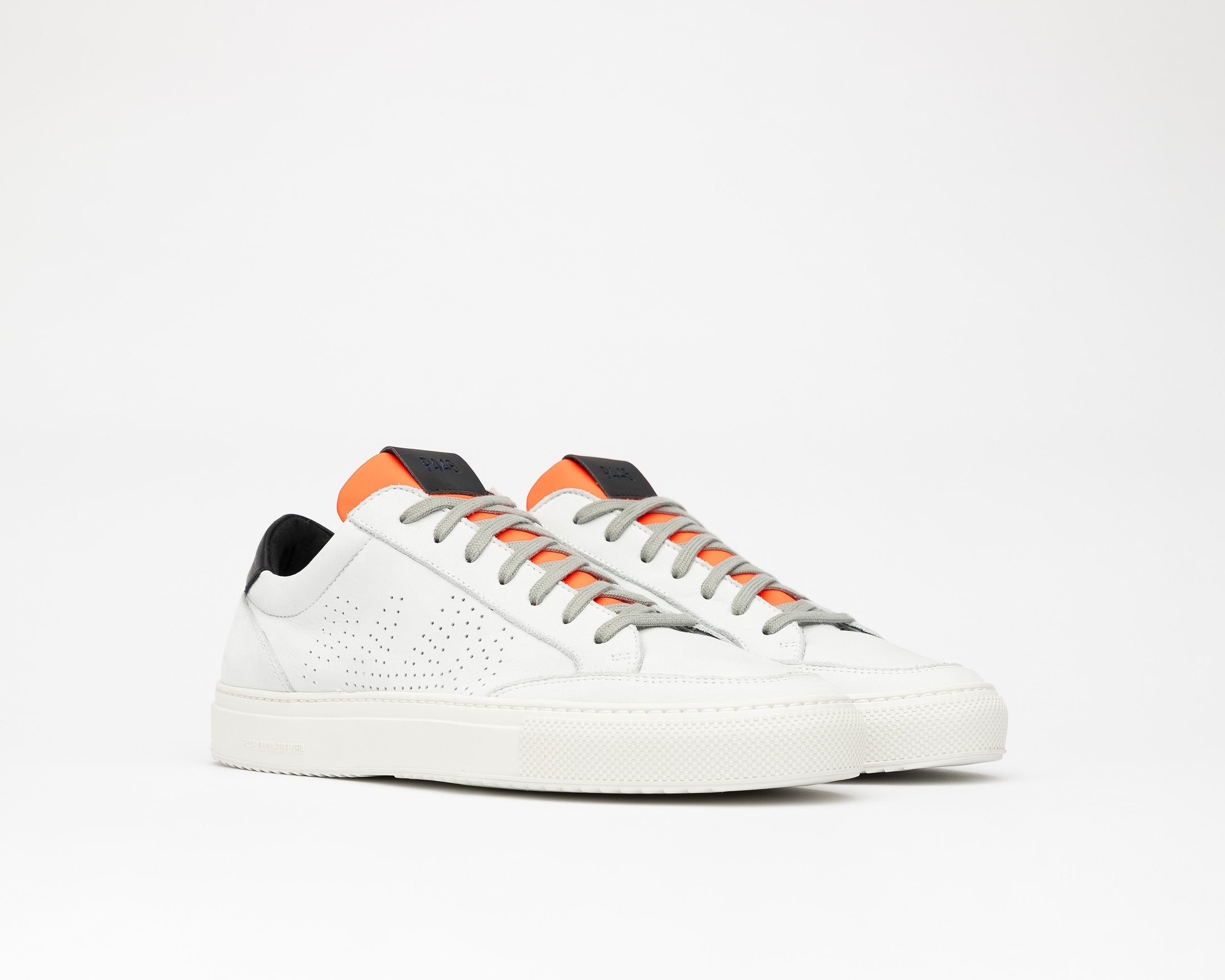Soho White/Orange - Mens Sneaker - Side