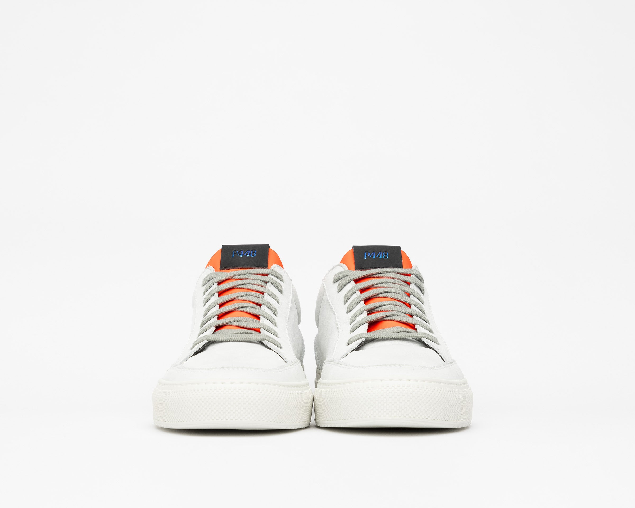 Soho White/Orange - Mens Sneaker - Detail1