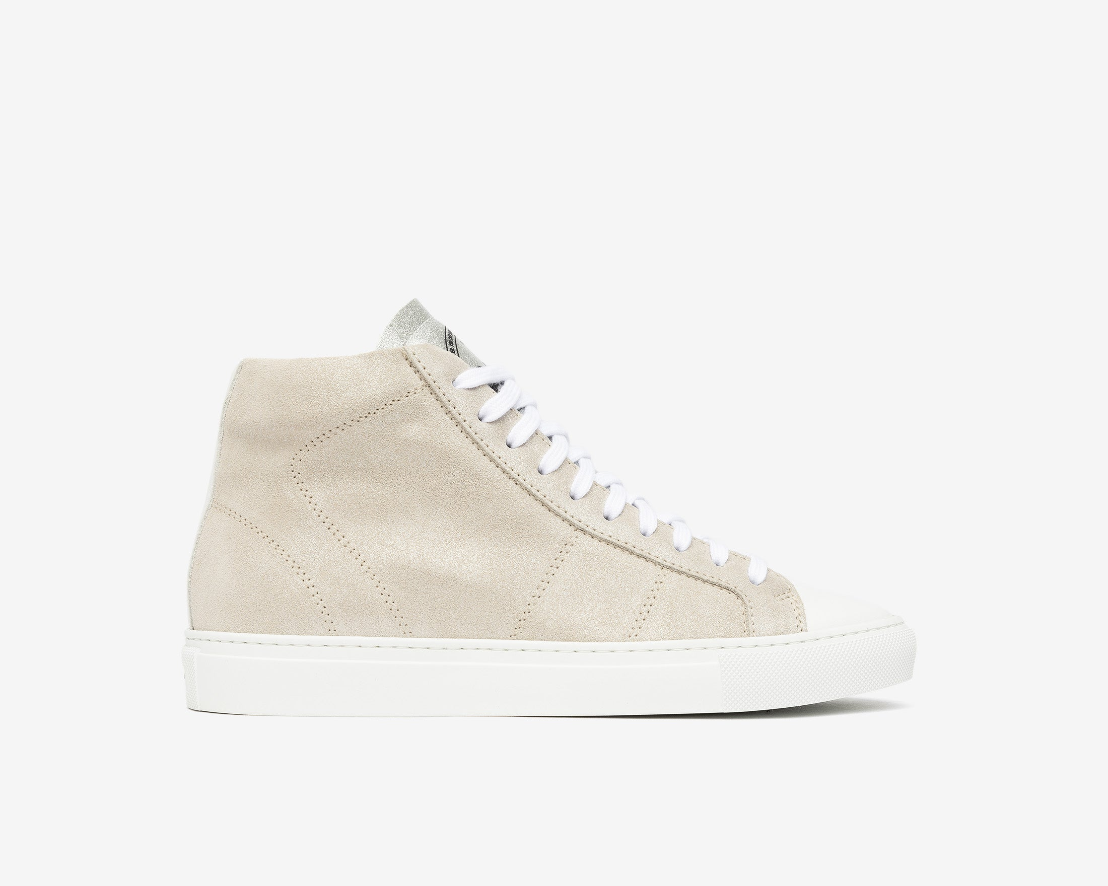 Star High-Top Sneaker in Aspide - Profile