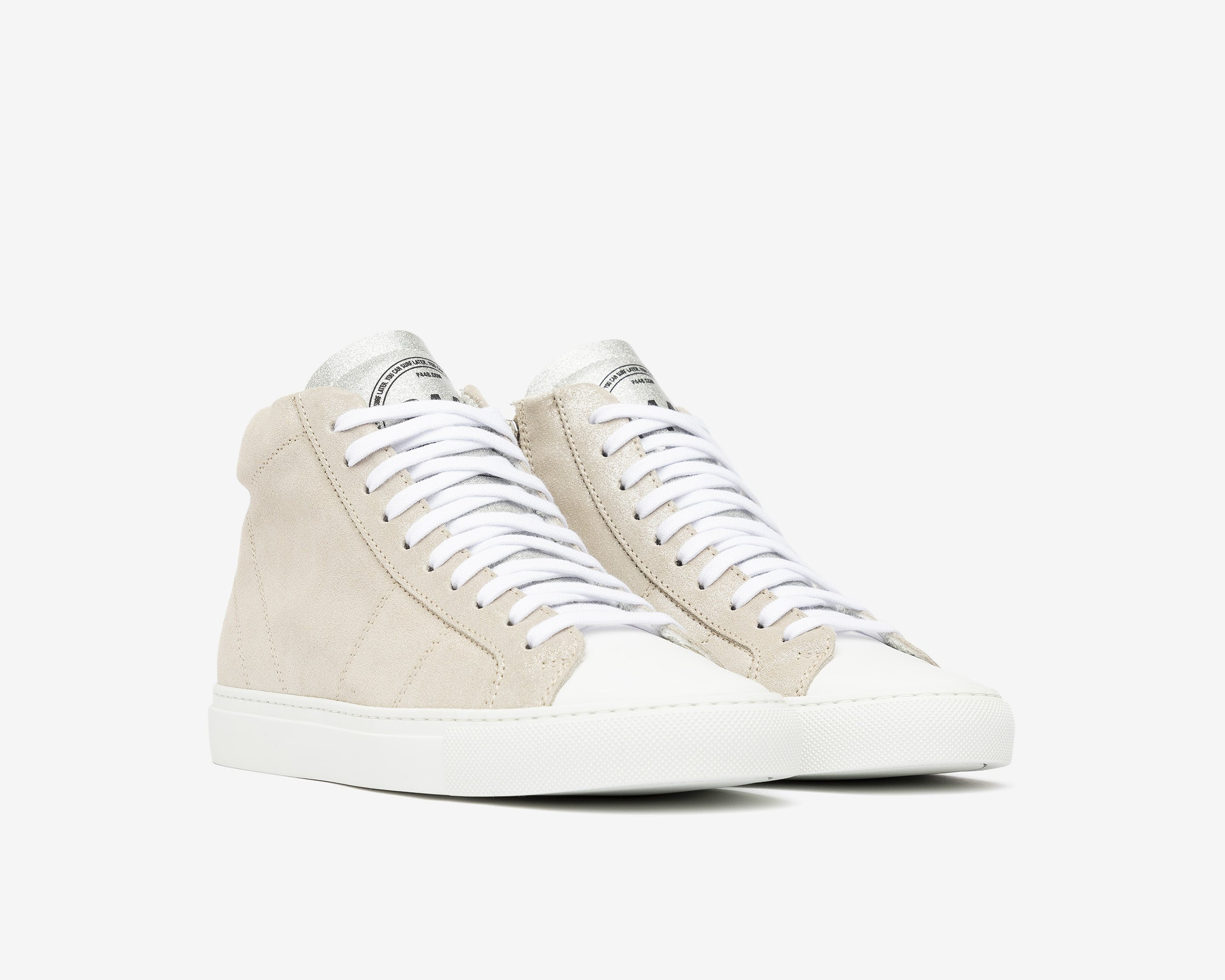 Star High-Top Sneaker in Aspide - Side