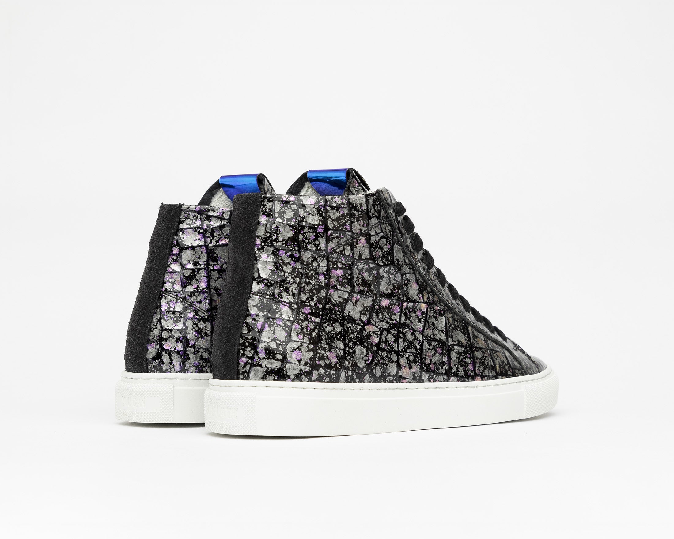 Star High-Top Sneaker in Supernova - Back