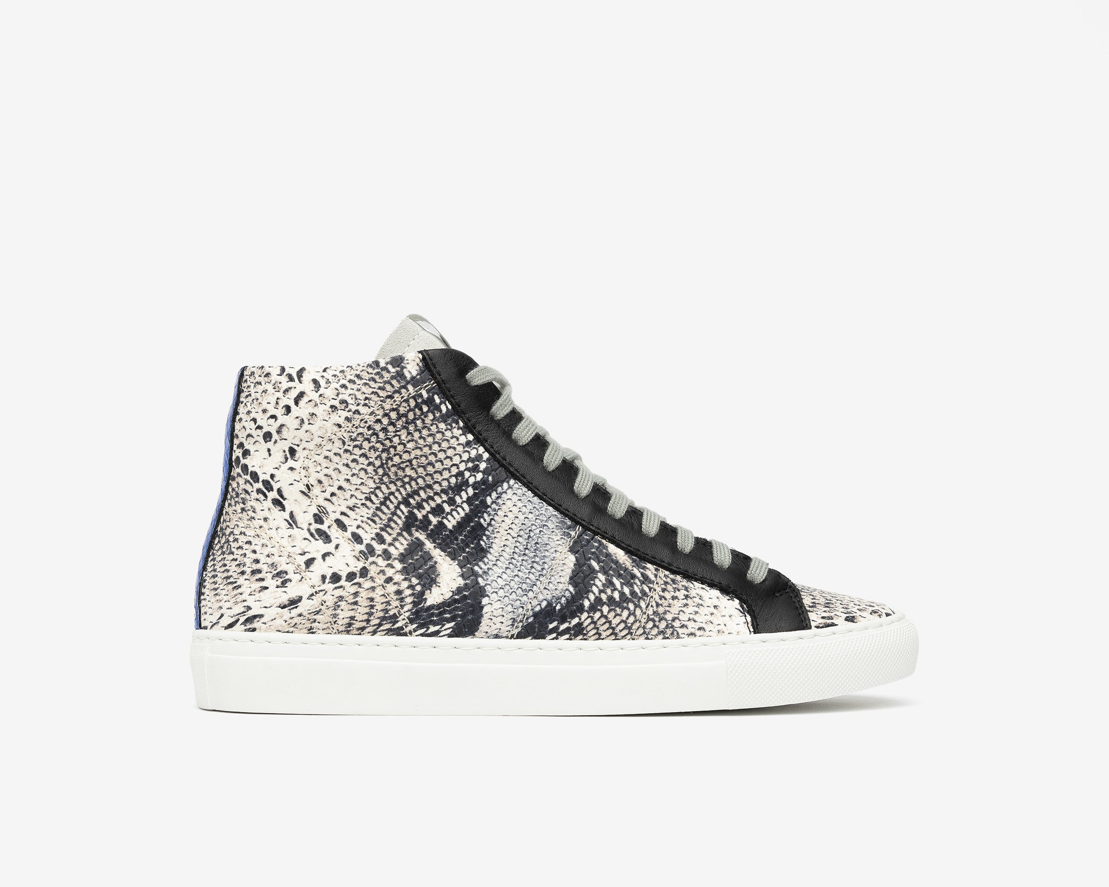 Star High-Top Sneaker in Twister Python - Profile