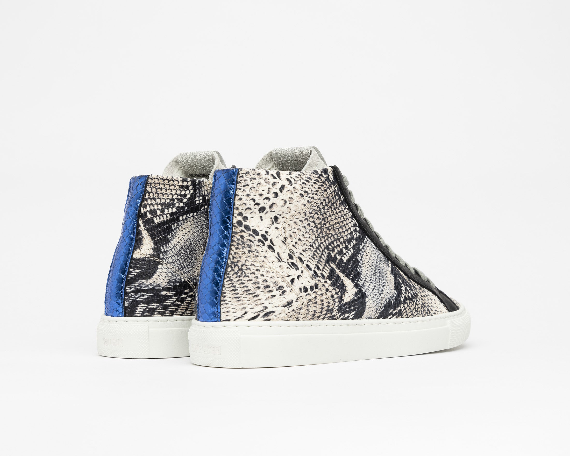 Star High-Top Sneaker in Twister Python - Back