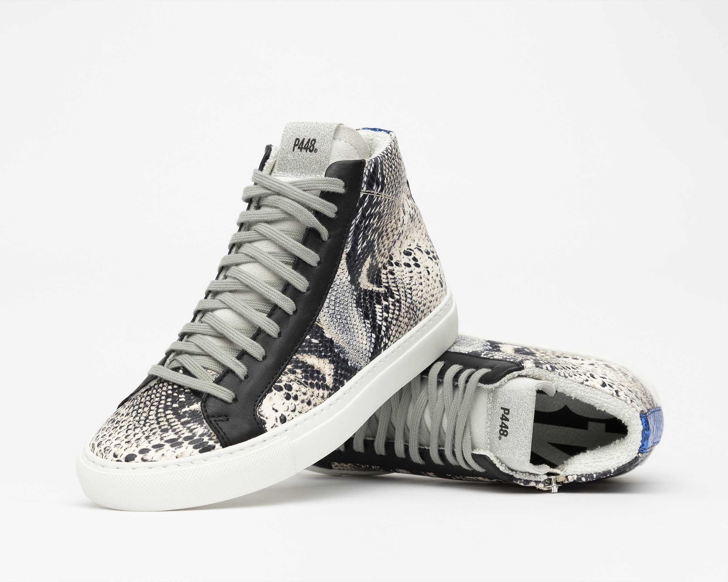 Star High-Top Sneaker in Twister Python - Detail 1
