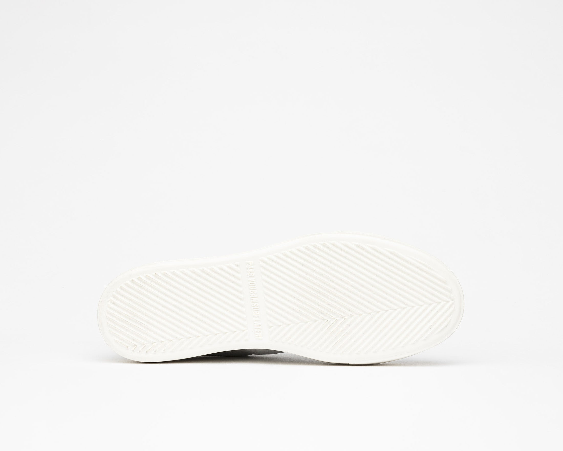 Thea Platform Sneaker in White/Twister Python - Bottom