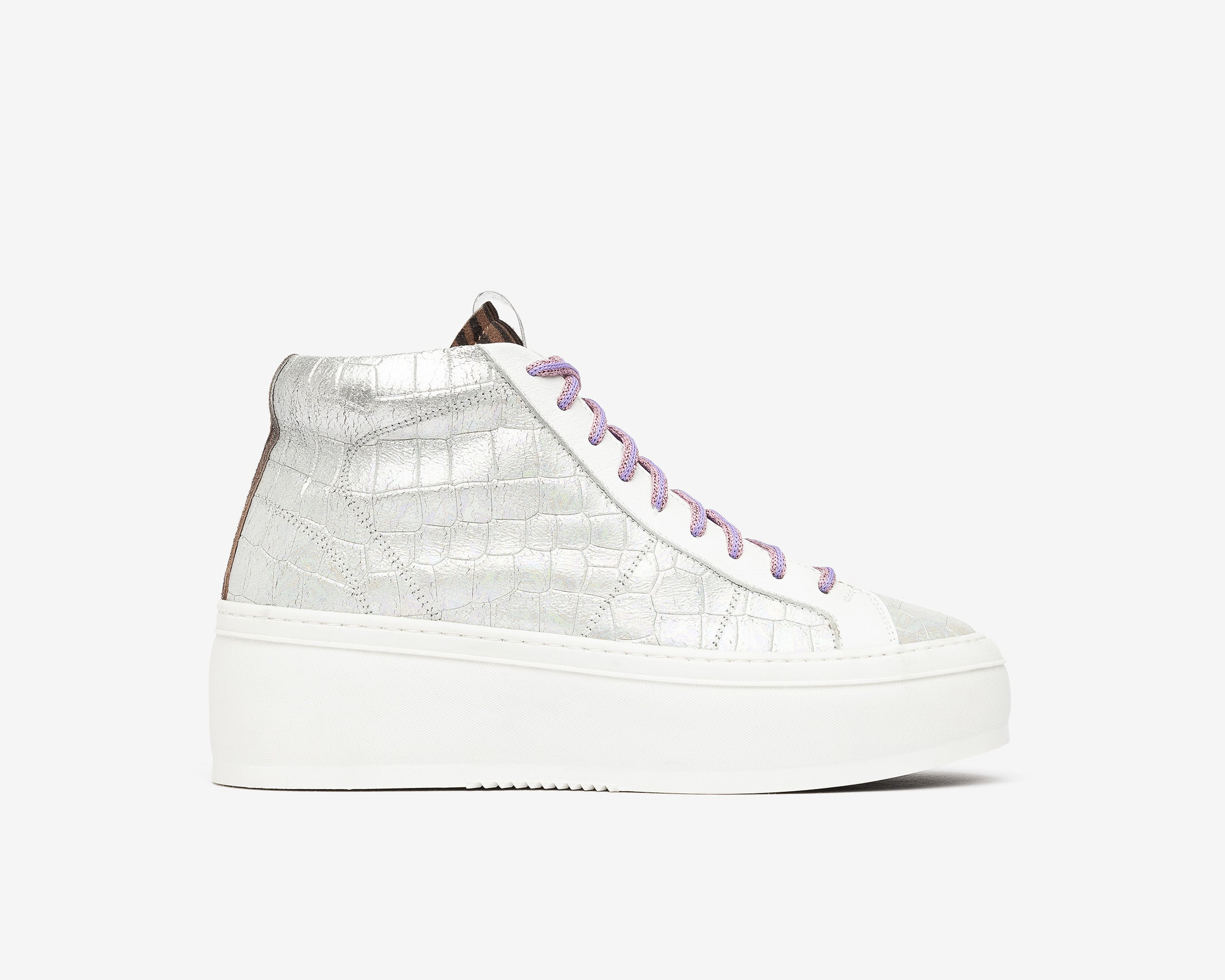 Vicky High-Top Platform Sneaker in Naicut - Profile