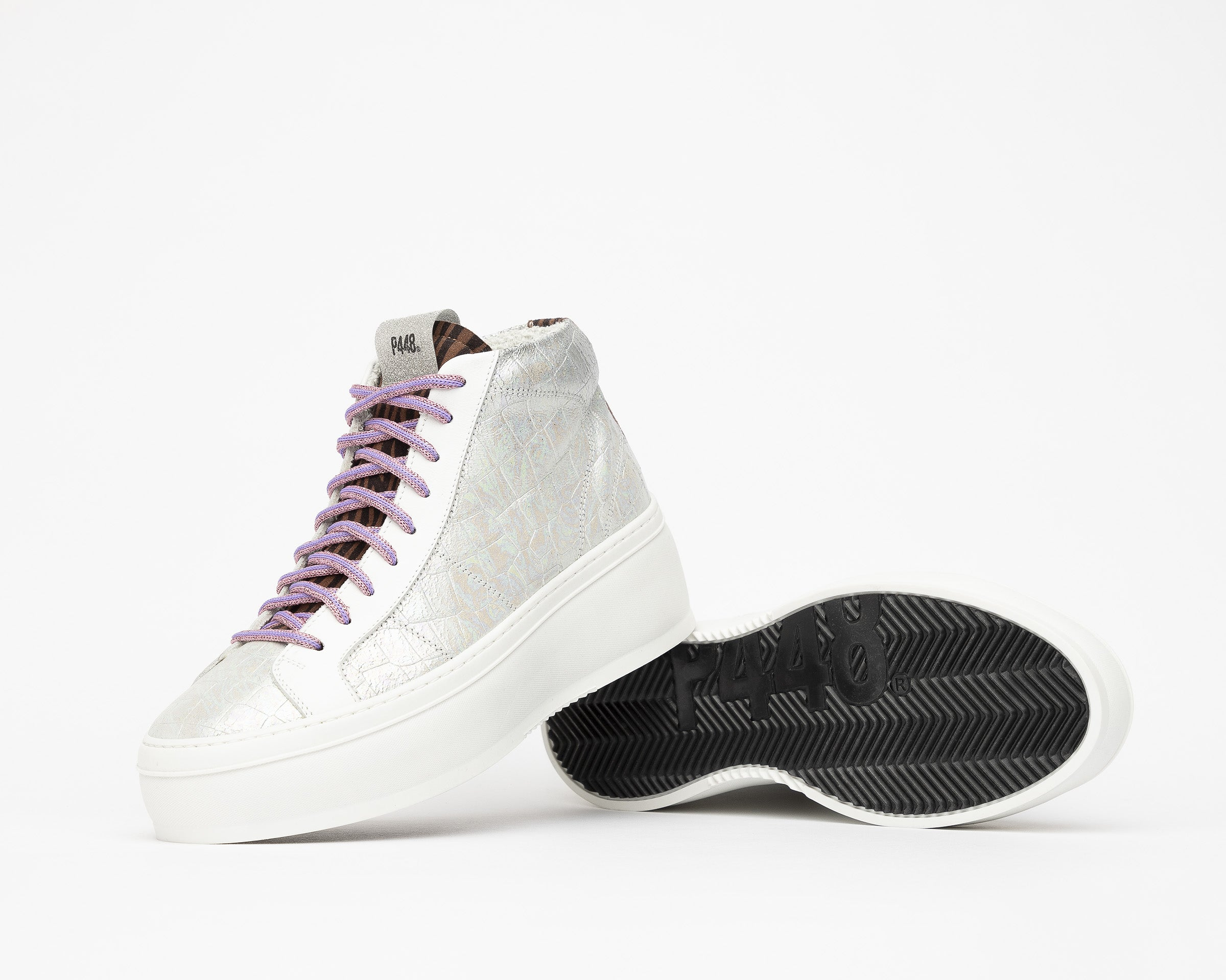 Vicky High-Top Platform Sneaker in Naicut - Detail 1