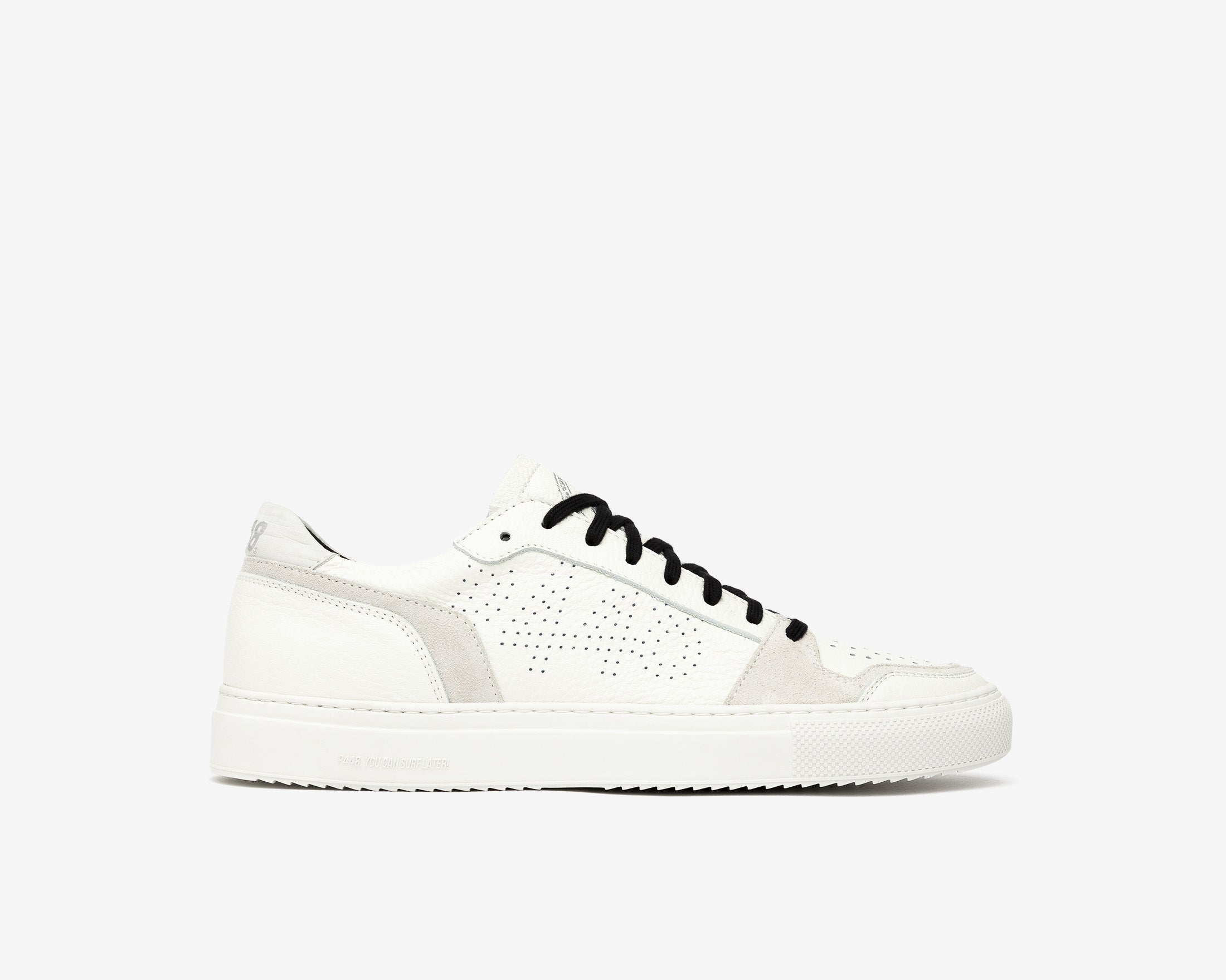 Zac Low-Top Sneaker in White/Spez - Profile