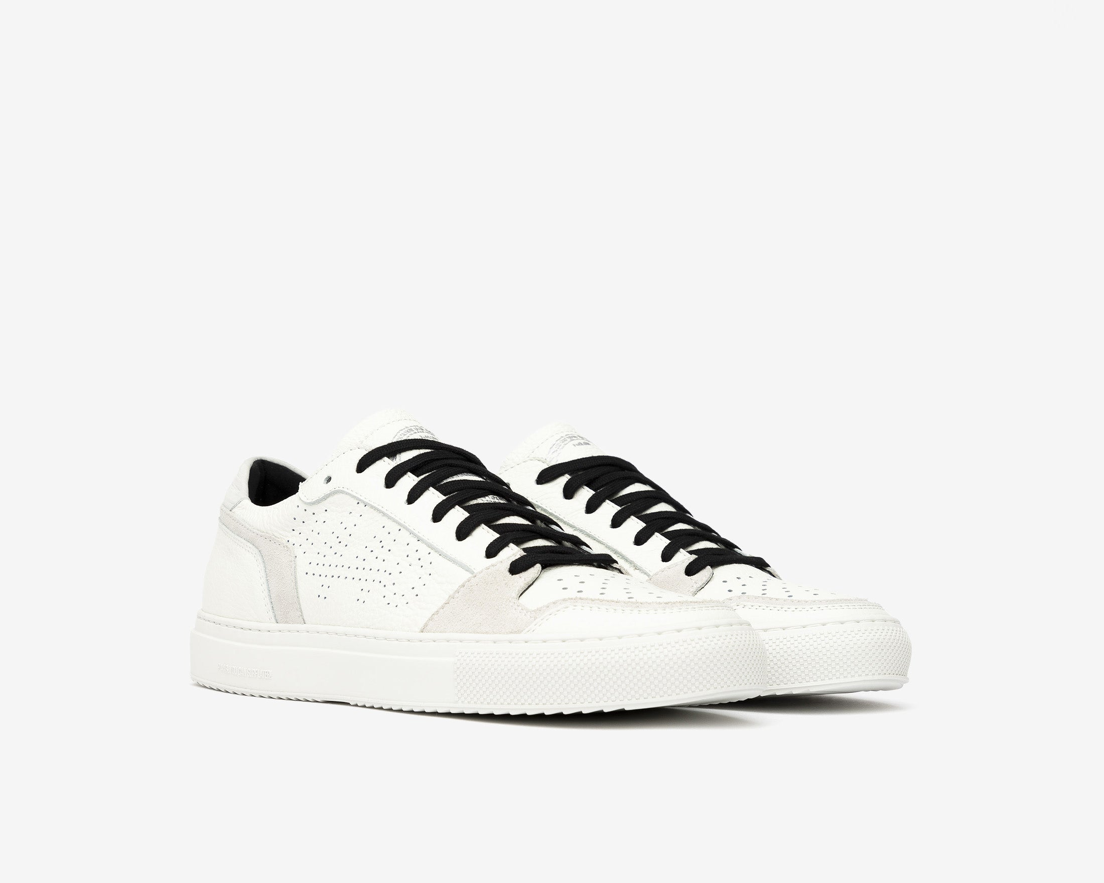 Zac Low-Top Sneaker in White/Spez - Side