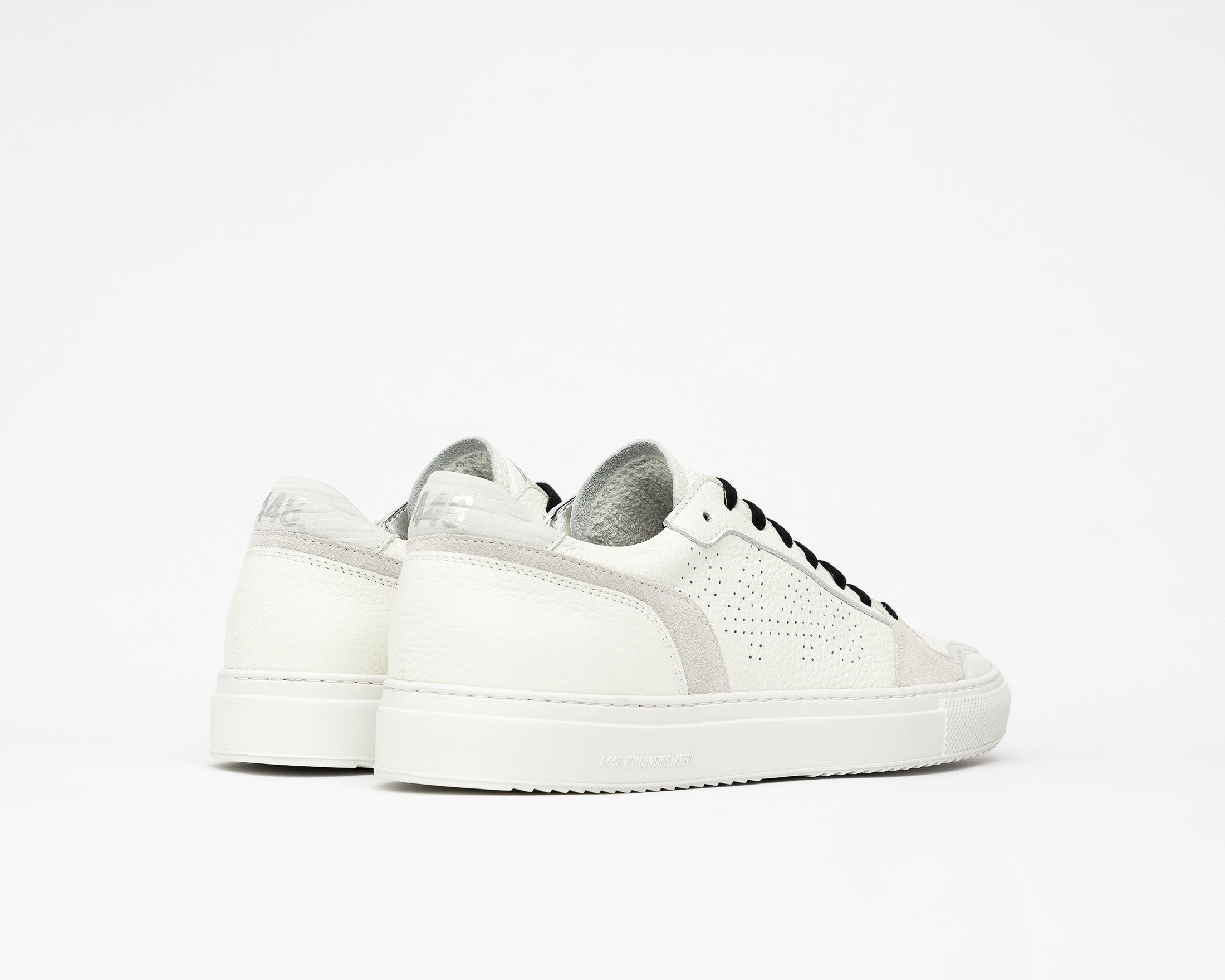Zac Low-Top Sneaker in White/Spez - Back