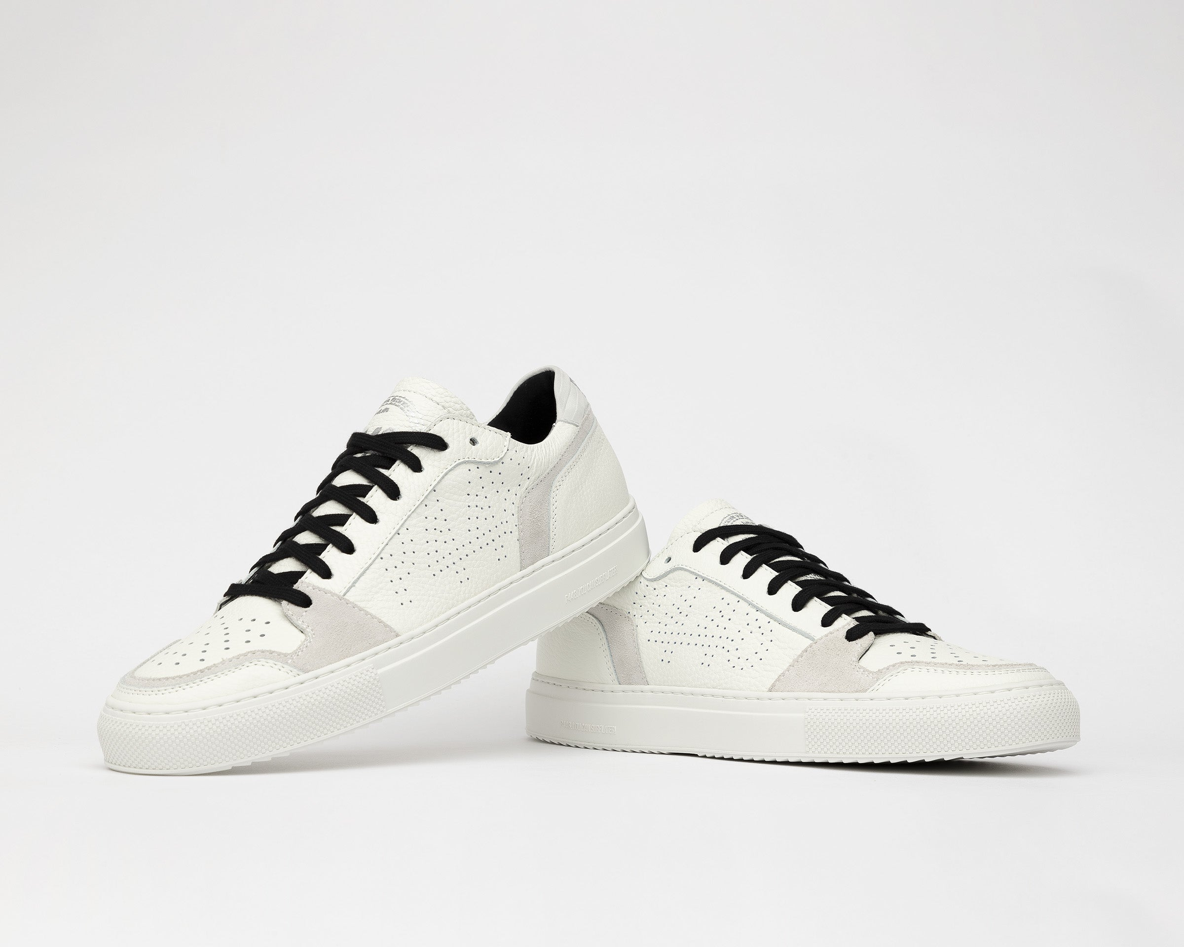 Zac Low-Top Sneaker in White/Spez - Detail