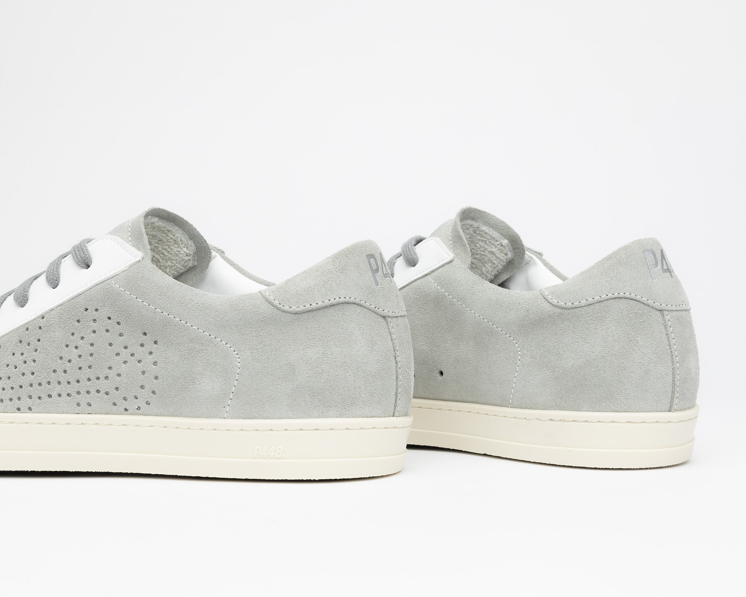 John Recycled Suede Grey