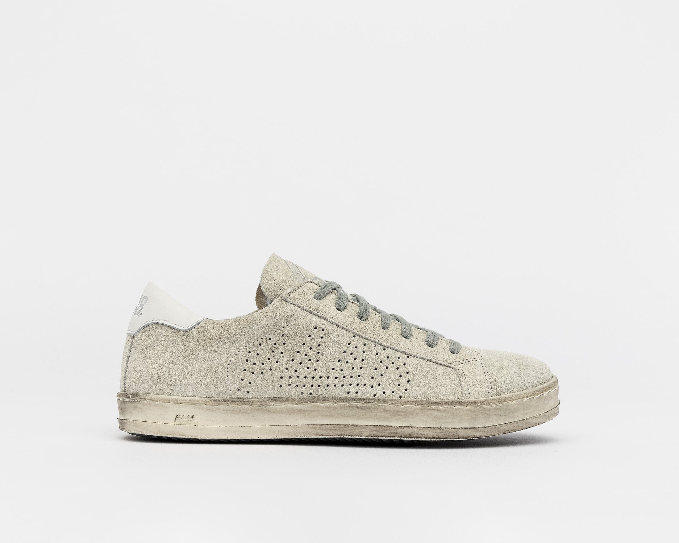 John Low-Top Sneaker - Cac/White - Profile