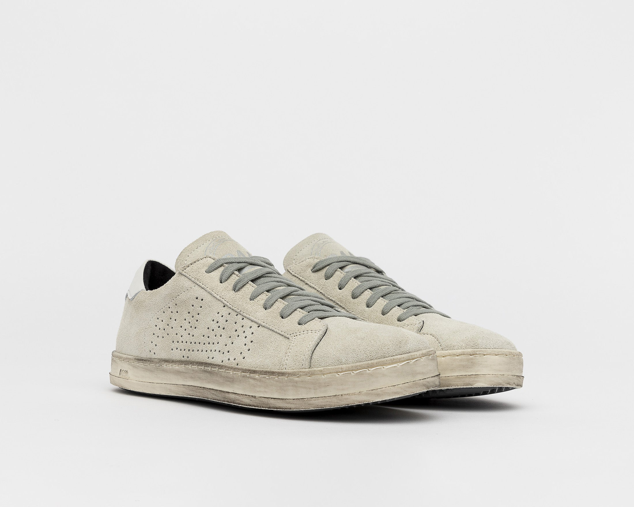 John Low-Top Sneaker - Cac/White - Side