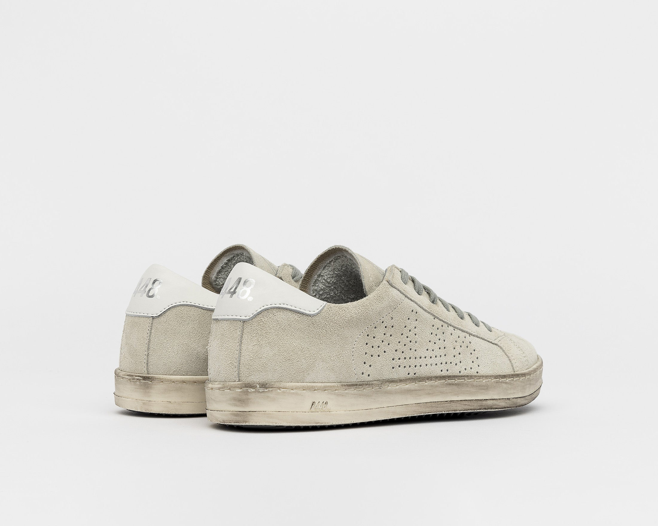John Low-Top Sneaker - Cac/White - Back