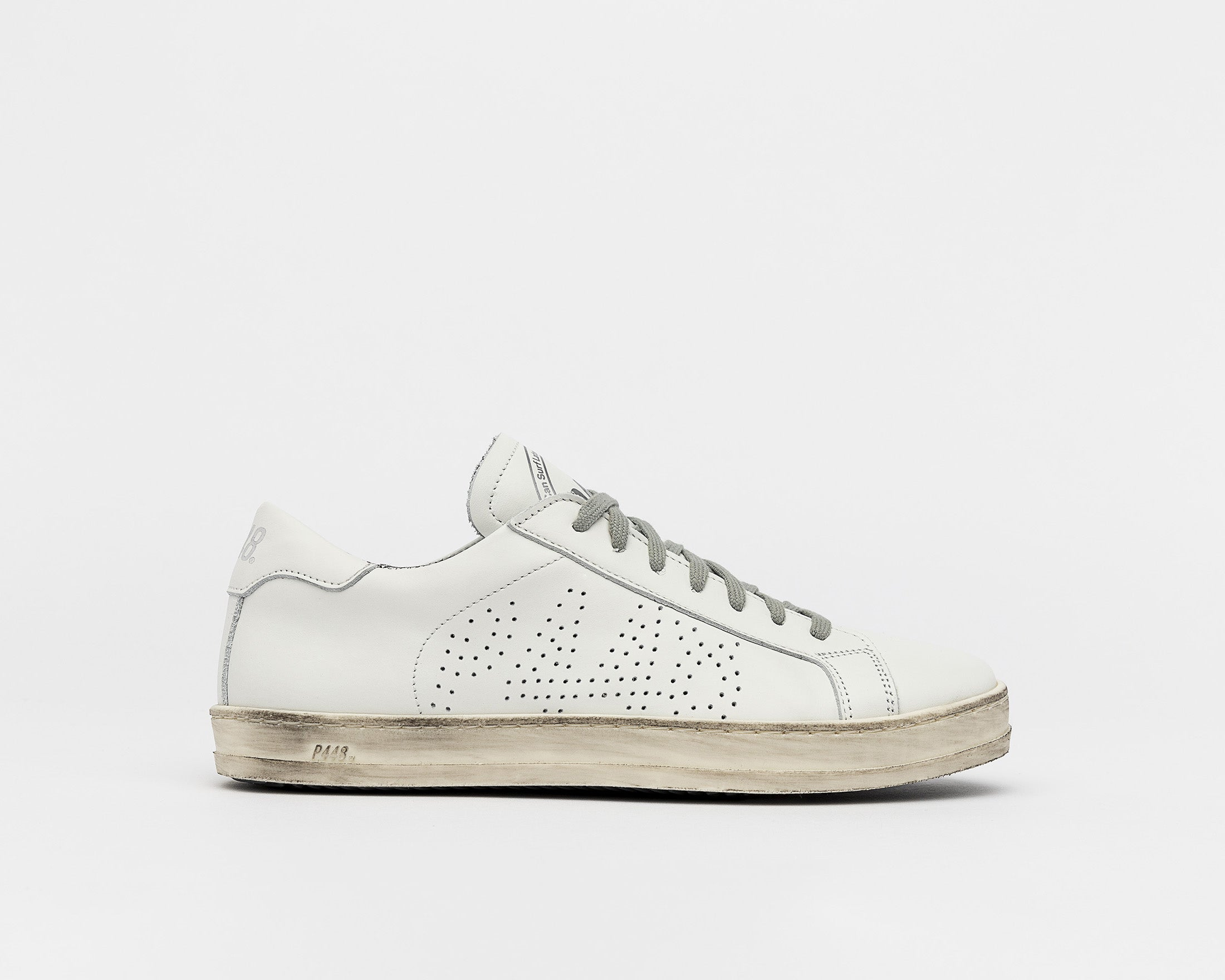 John Low-Top Sneaker - White - Profile