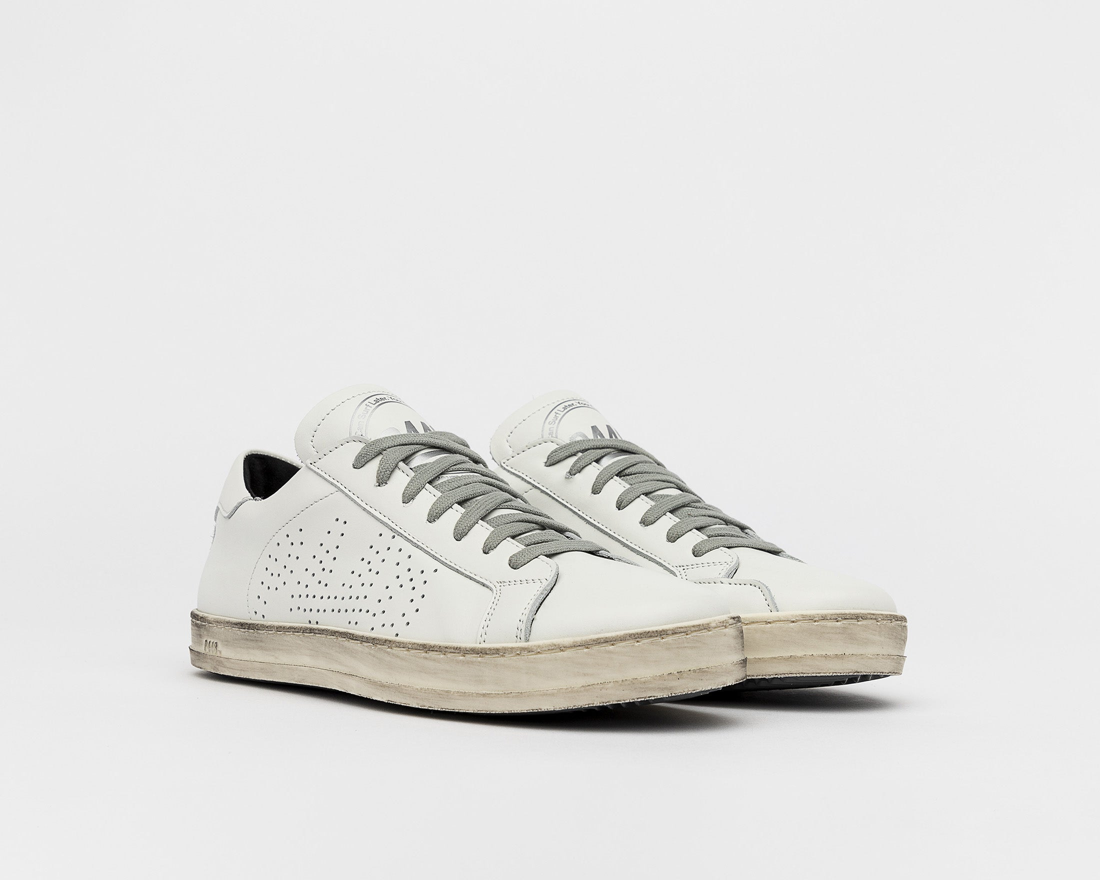 John Low-Top Sneaker - White - Side