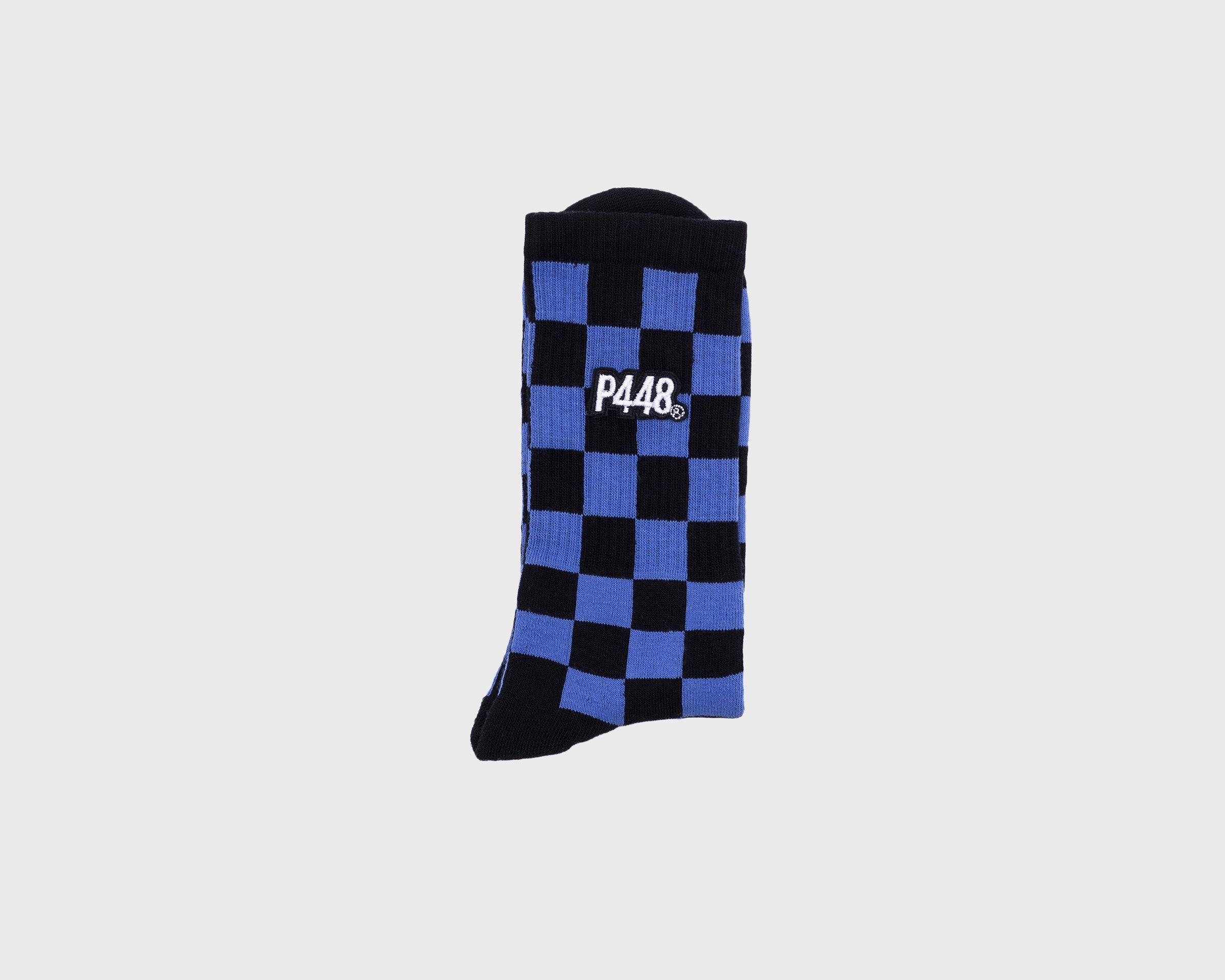 Socks Black/Blue Check