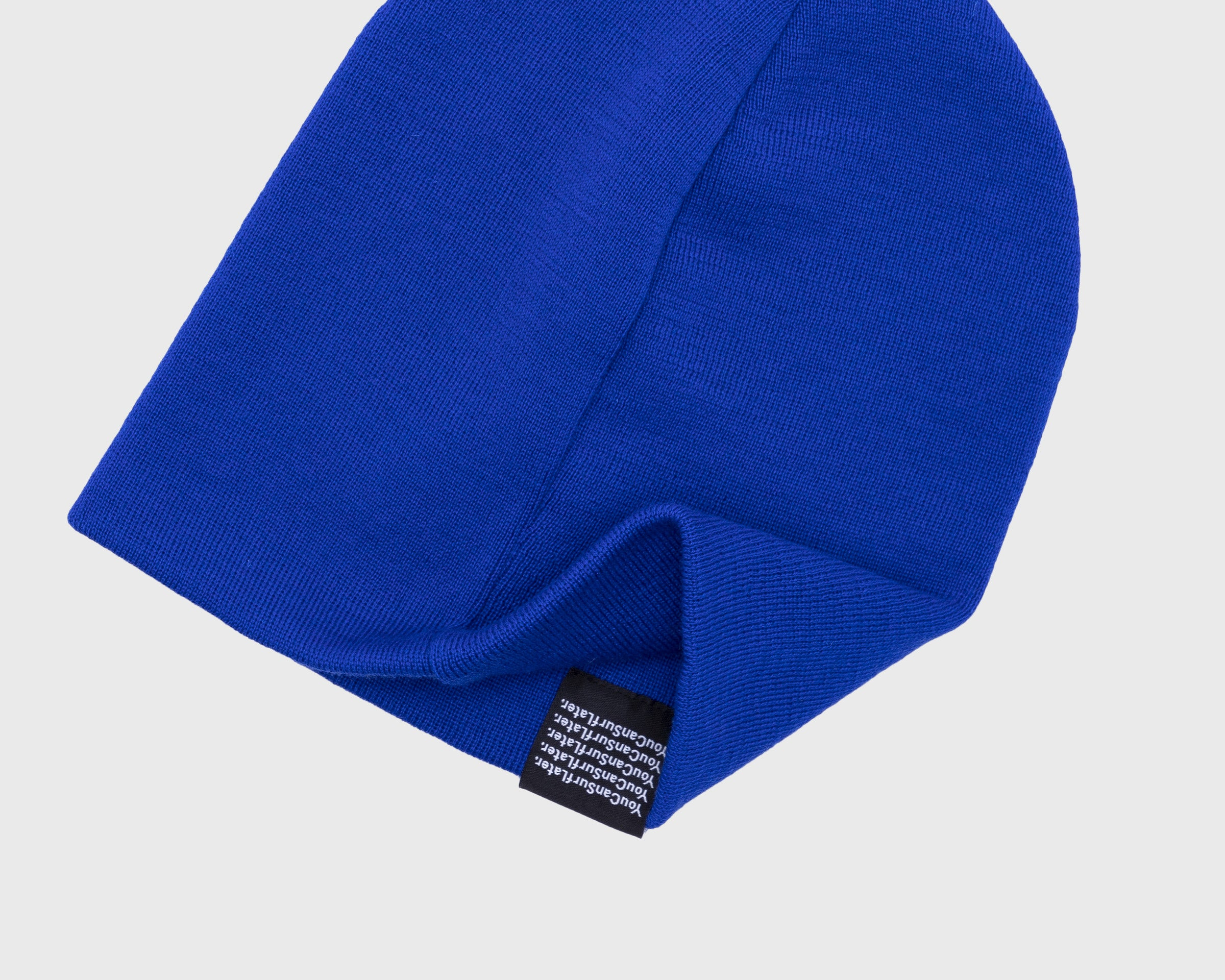 P448 Royal Blue Cap - Detail