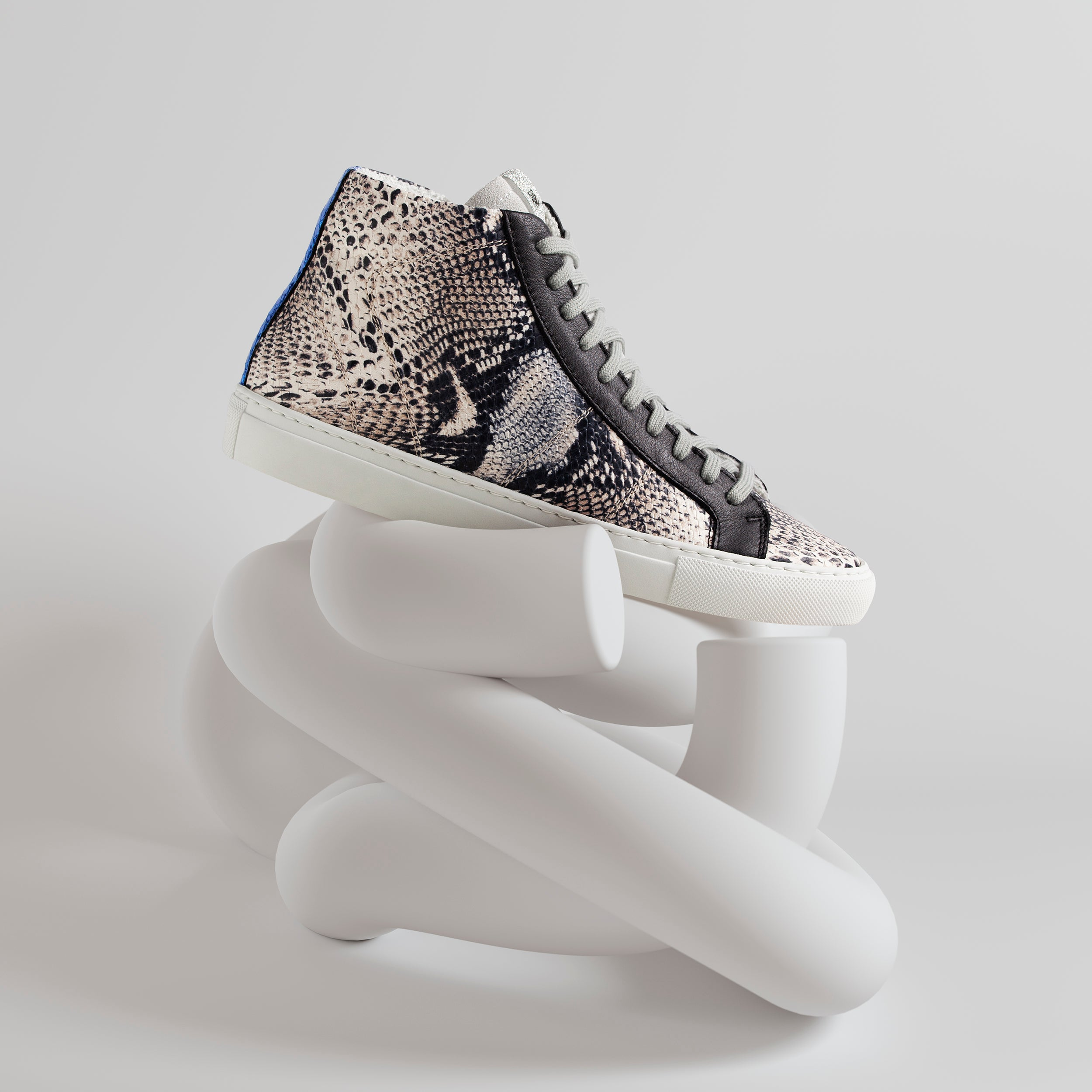 Star High-Top Sneaker in Twister Python - Detail