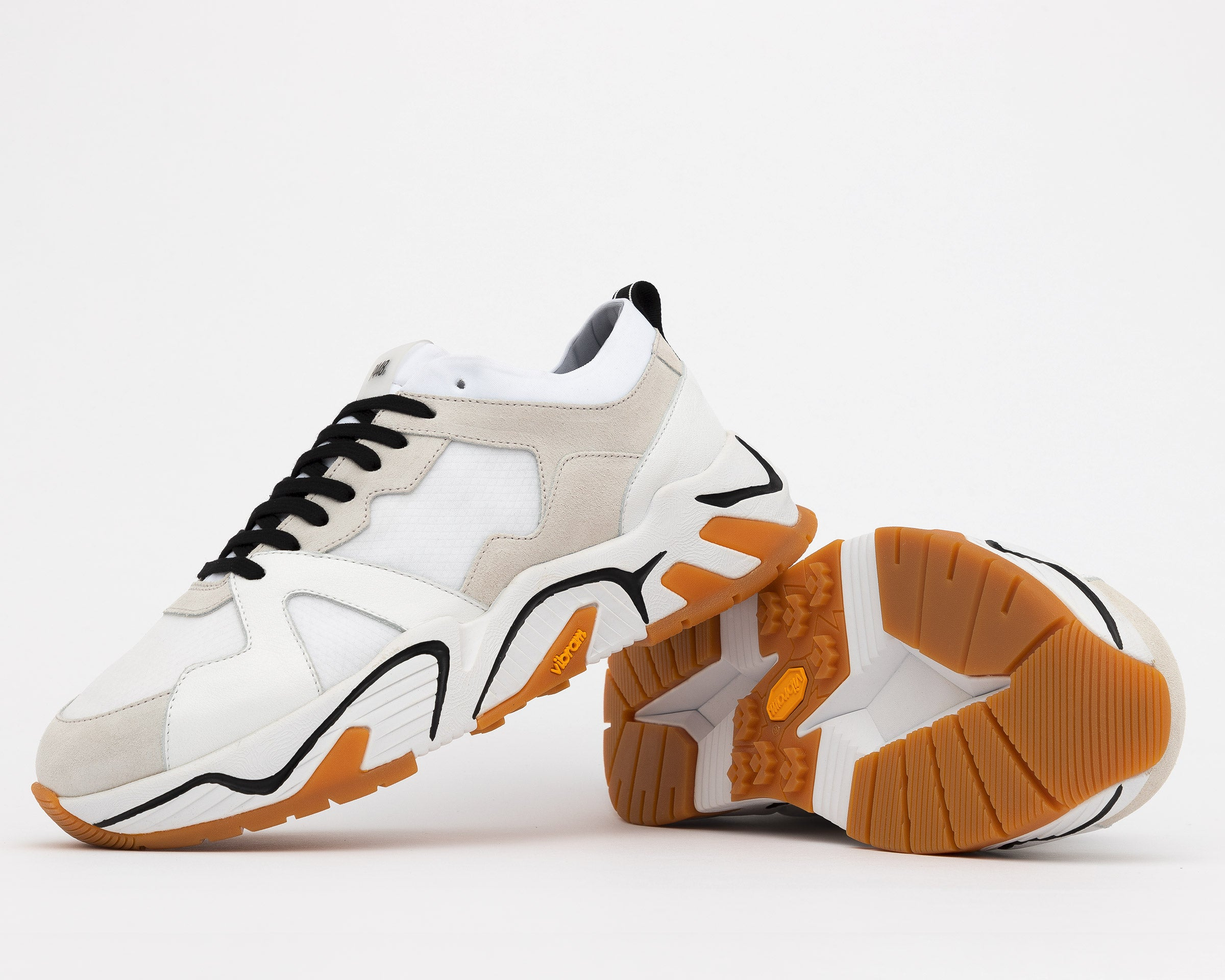 Dean Chunky Sneaker in Cun/White - Styled
