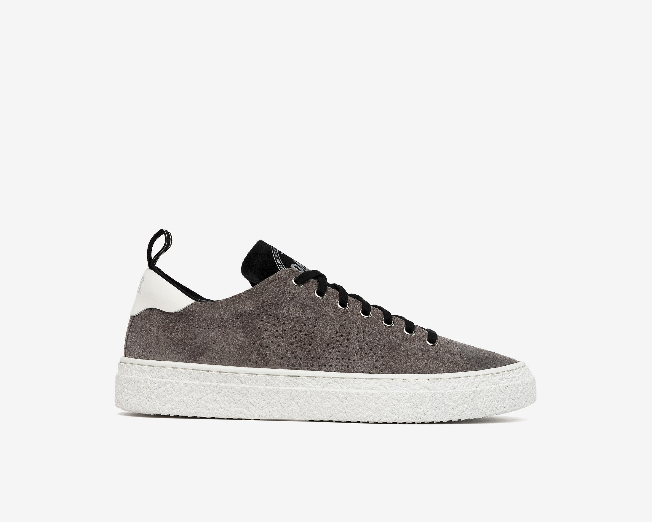 Shane Slip-on Sneaker in Anthracite Suede - Profile
