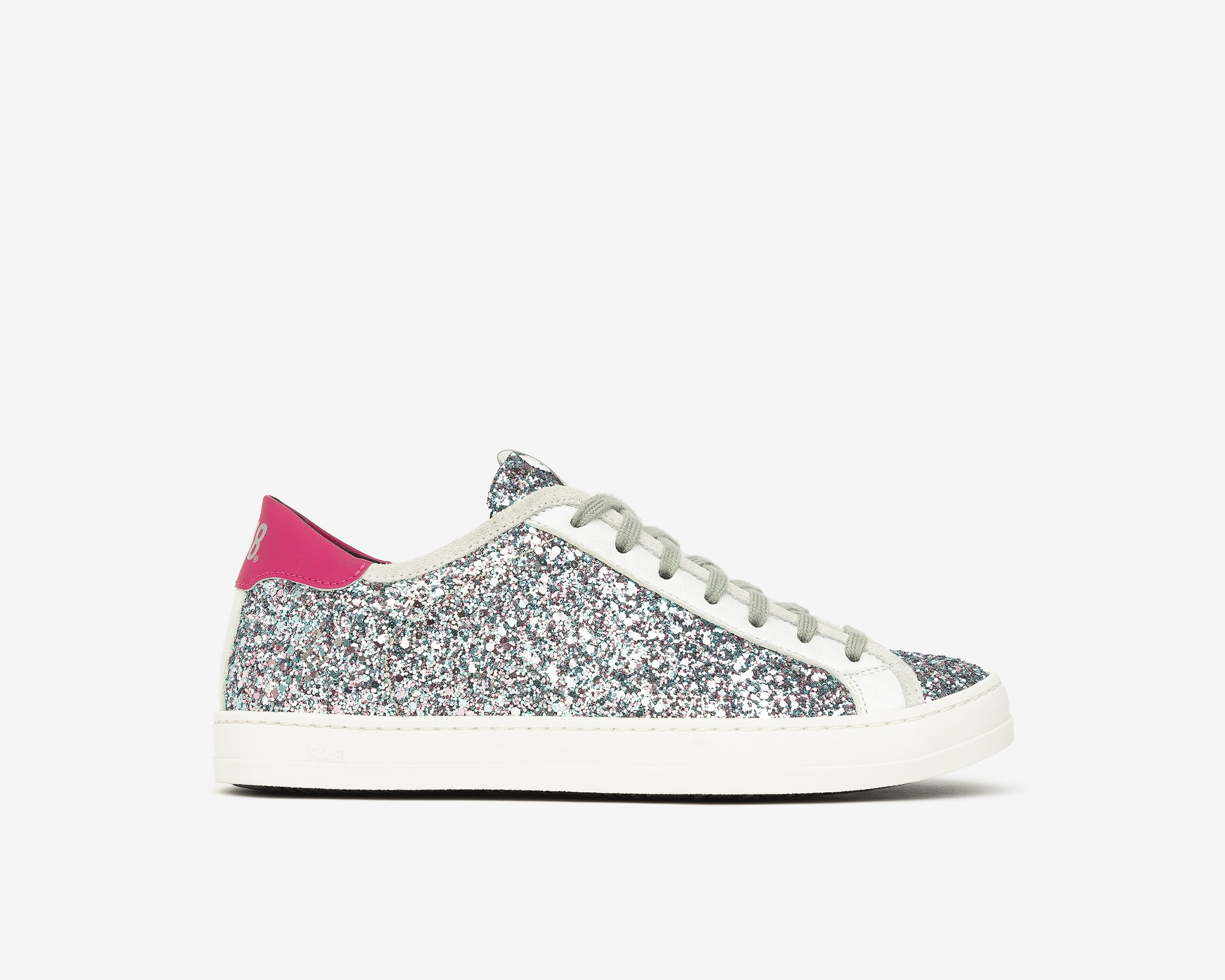 Johnny Low-Top Sneaker in LBL/Glitter - Profile