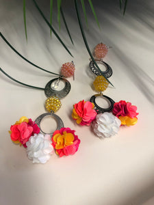 High Vibe Floral Earrings