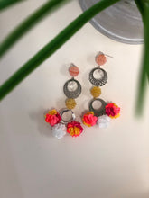 Load image into Gallery viewer, High Vibe Floral Earrings