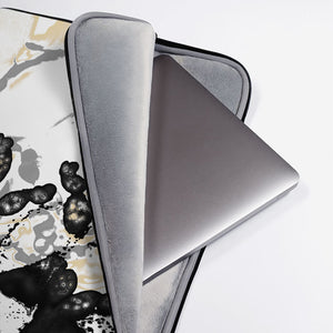 "Laptop Sleeve, ""Maturation - Black/Gray"""