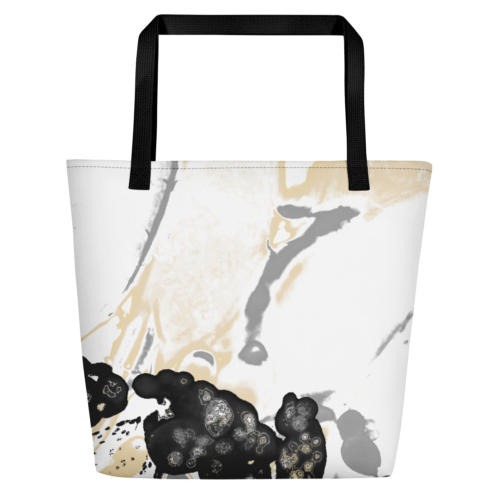 Maturation - Large Tote Bag - Black/Gray
