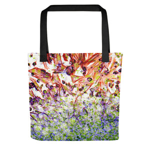 "Tote Bag, ""Migration - Flame"""