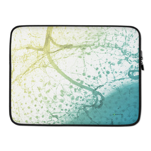 "Laptop Sleeve, ""Connection - Summer"""