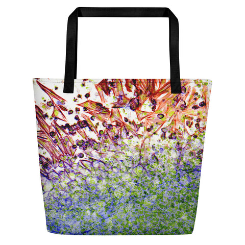Migration - Large Tote Bag - Flame