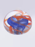 handmade glass art paperweight