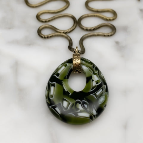 Modern Handmade Murrini Glass Jewelry