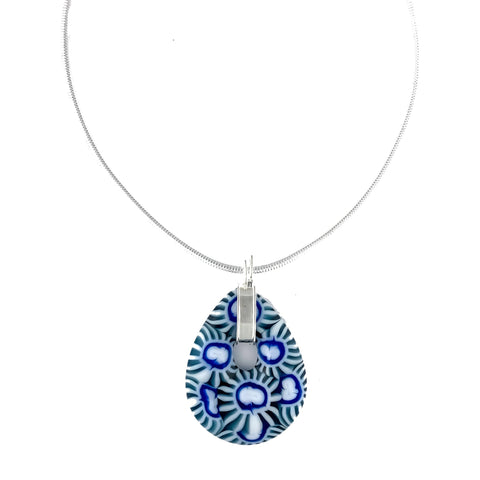 teardrop pendant statement necklace