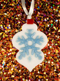 glass hanging ornament