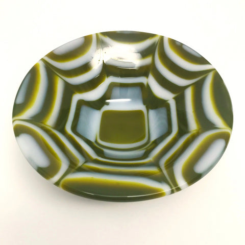 Kiln Cast Glass Bowl