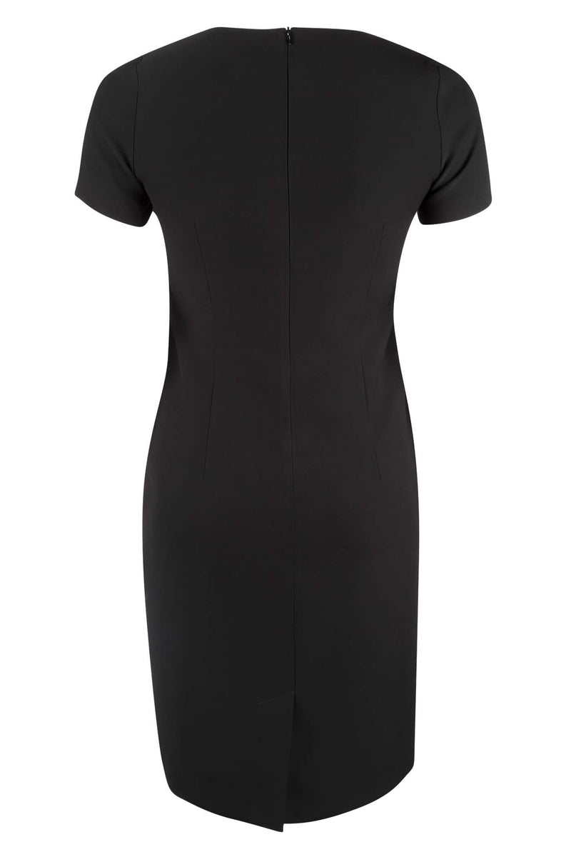 Classic Black Sheath Dress
