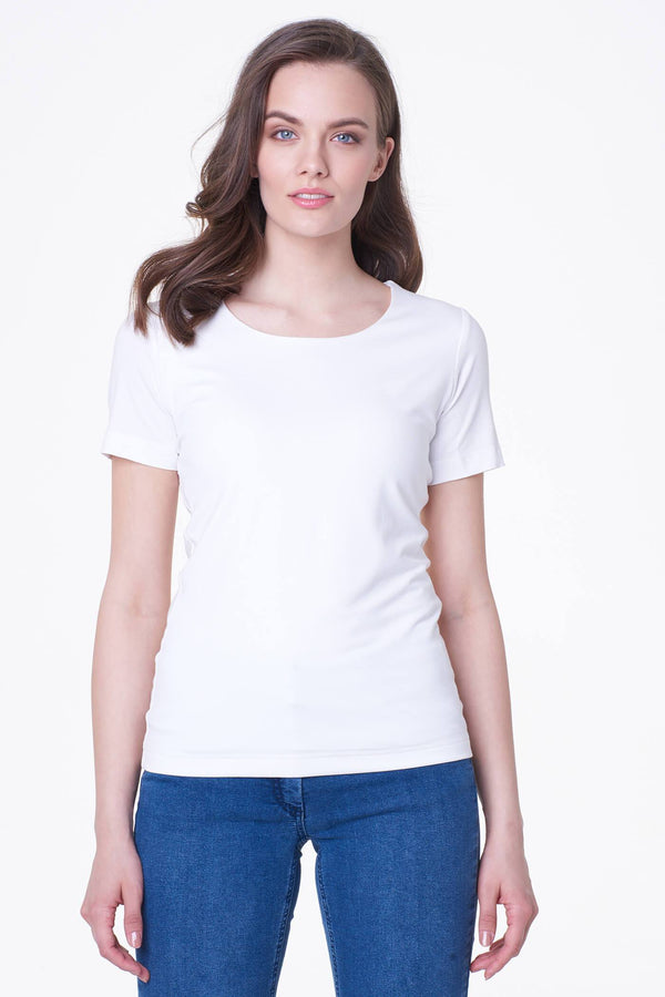 Voglia off white basic t-shirt