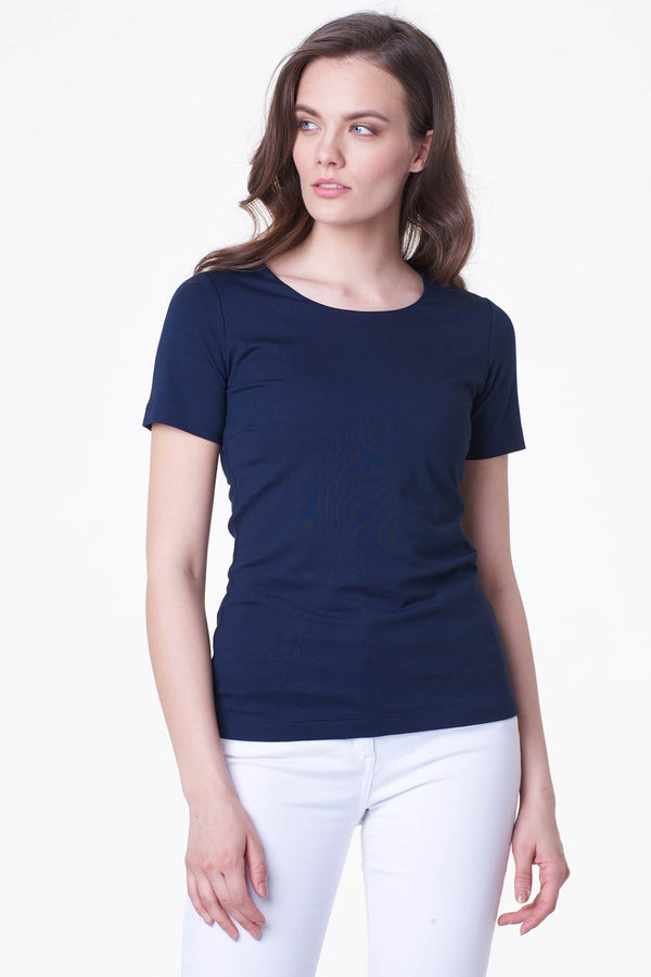 Voglia basic dark blue t-shirt