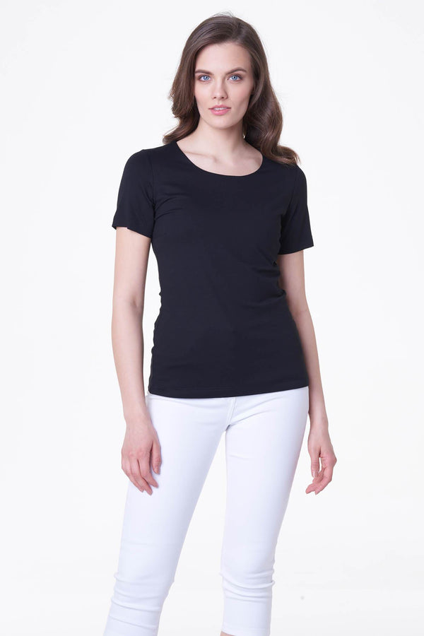 Voglia basic black t-shirt