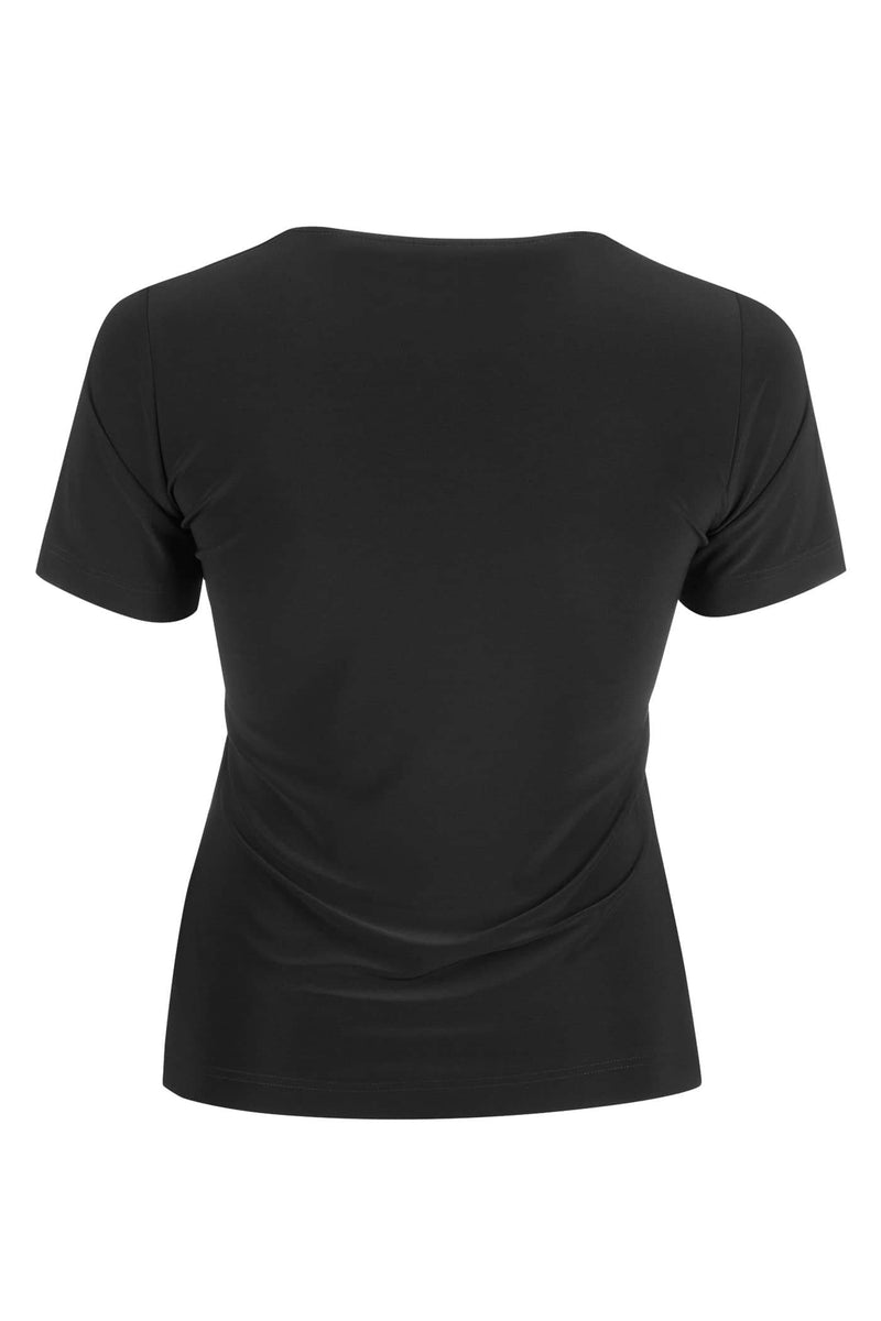 Basic Crew Neck T-Shirt Black