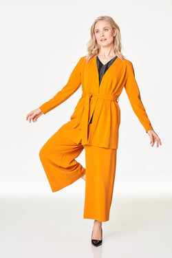Wide Leg Culottes Orange