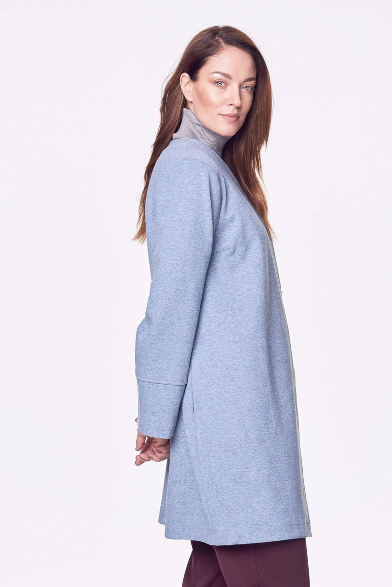 Voglia comfy blue oversized jacket