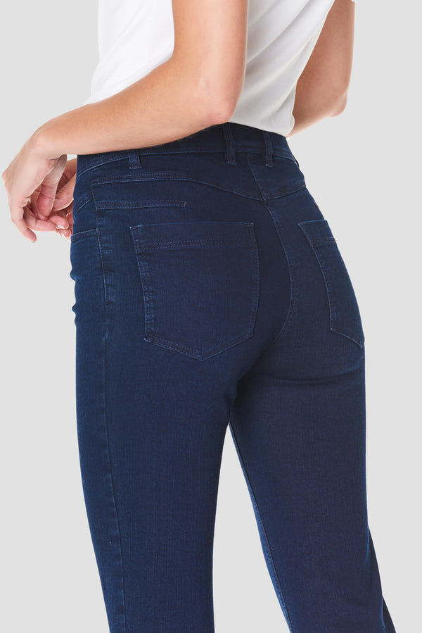 Blue Super Stretch Ankle Original Jeans