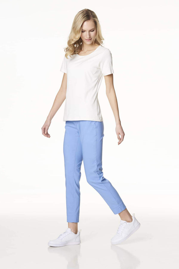 Voglia baby blue stretchy pants